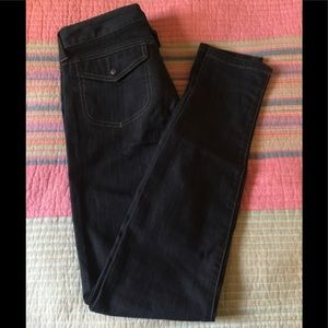 Athleta Jeans size 2 skinny black